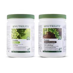 นิวทริไลท์ กรีนที โปรตีน และนิวทริไลท์ โปรตีน รสช็อกโกแลต