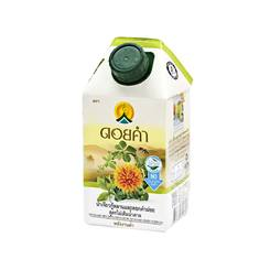 ดอยคำ น้ำเจียวกู้หลานและดอกคำฝอย สูตรไม่เติมน้ำตาล - ขนาด 500 มล.