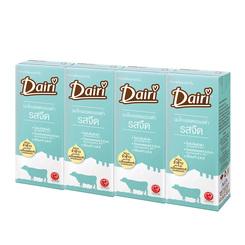 แดรี่ ผลิตภัณฑ์นมขาดมันเนยยูเอชทีโคเลสเตอรอลต่ำรสจืด