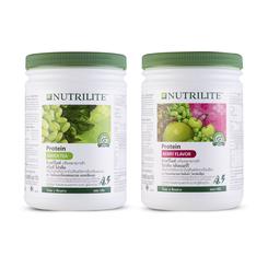 ชุดนิวทริไลท์ กรีนที โปรตีน + นิวทริไลท์ โปรตีน เบอร์รี่