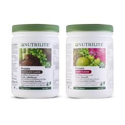 ชุดนิวทริไลท์ โปรตีน รสช็อกโกแลต และนิวทริไลท์ โปรตีน กลิ่นเบอร์รี